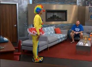 Candice rocks the Clown-itard