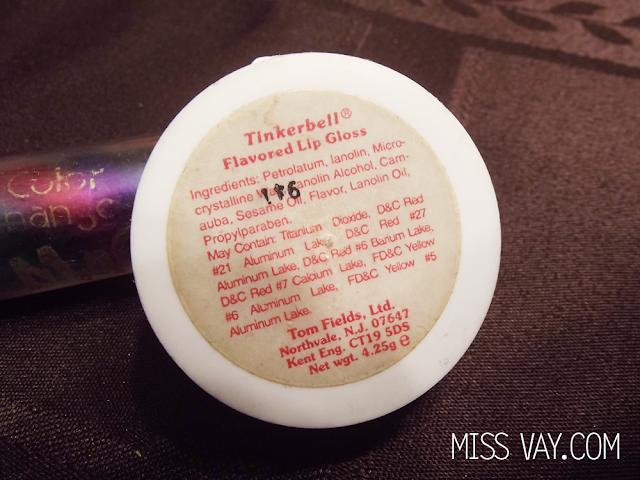 Brillant à lèvres Tinkerbell