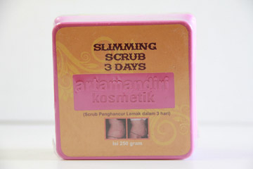 Slimming Scrub 3 days