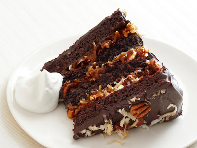 German Chocolate Cake With Coconut-Pecan Cajeta Frosting Recipe