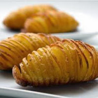 Crispy Hasselback Potatoes