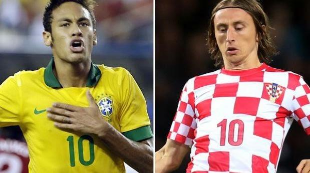 Brasil vs Croacia Horarios y televisión Online 2014