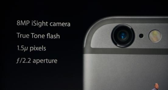 خصائص كاميرا الايفون 6
