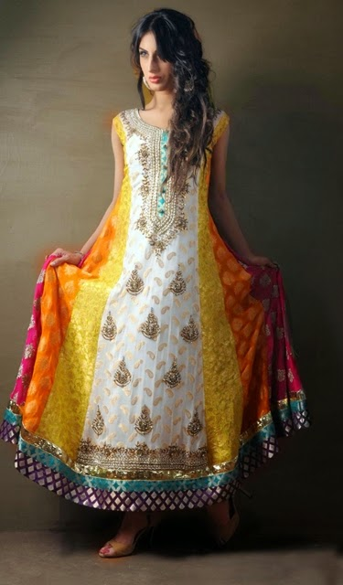 Mayon Mehndi Dresses 2015