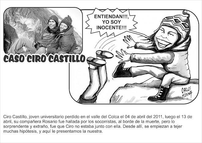 CASO CIRO CASTILLO EN CARLICATURAS