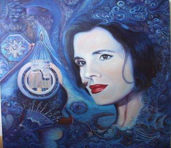 Retrato de Amalia Rodrigues