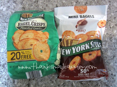 New York Style Mini and Original Bagel Crisps