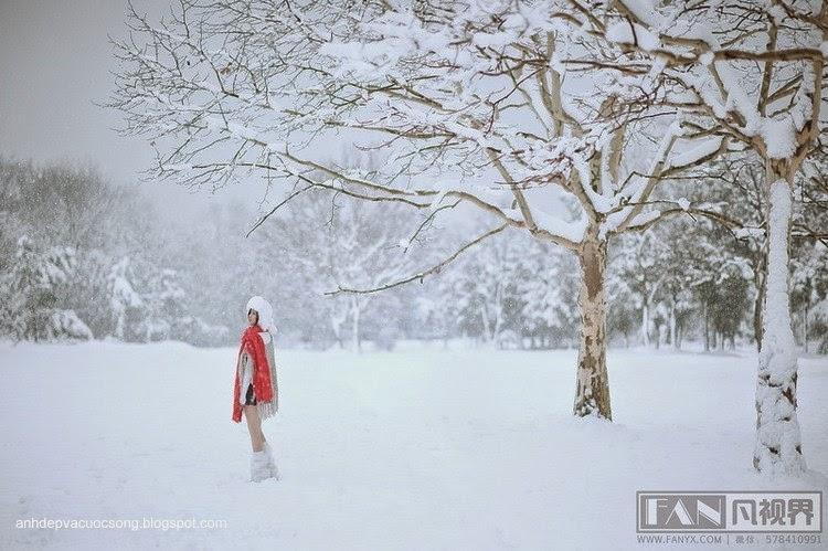 Dạo chơi ngoài tuyết lạnh 2