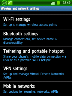 cara setting wifi di hp android samsung galaxy