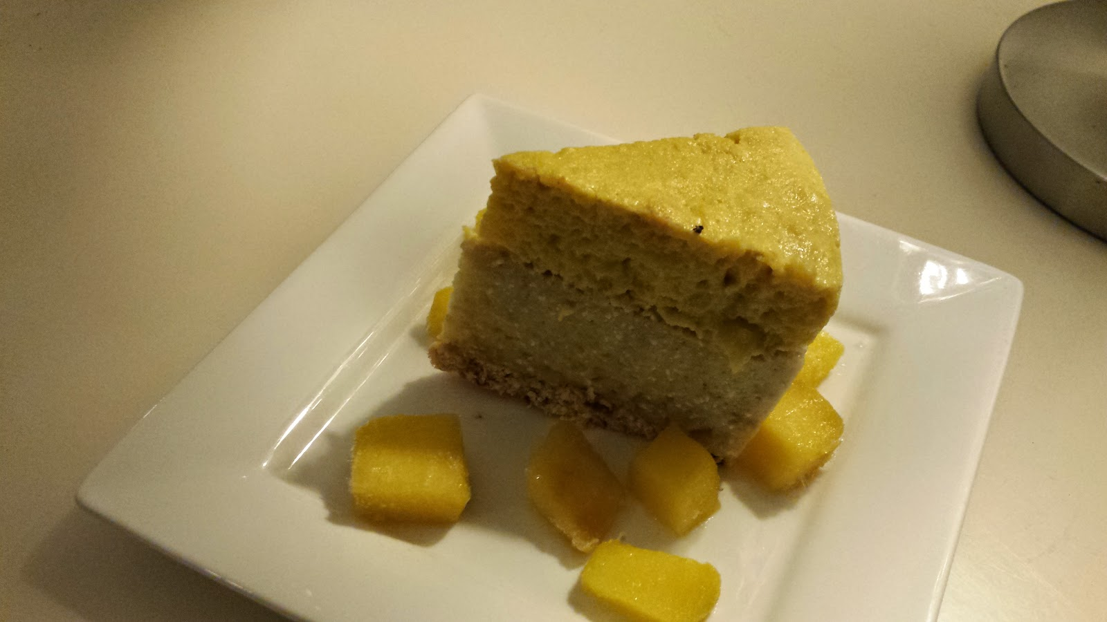 Healthilicious Lemon Protein Cheesecake - fail