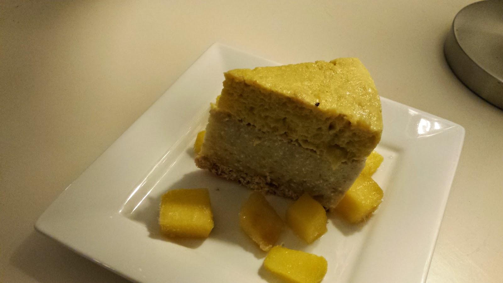 Healthilicious Lemon Protein Cheesecake - fail