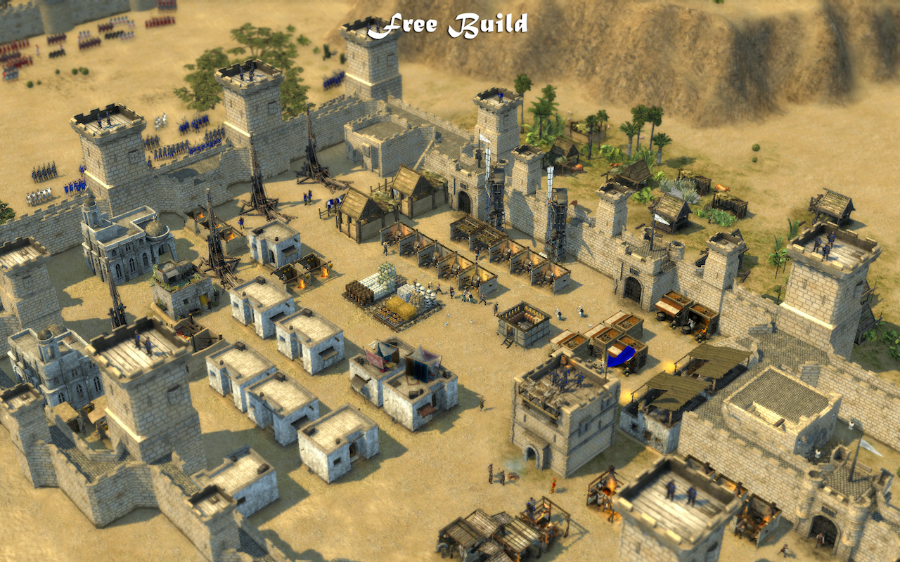 Cara Download Game Pc Stronghold Crusader