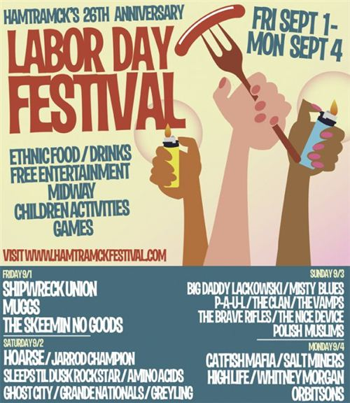 Beautiful Labor Day Posters Images: A Poster About Labor Day Festiveal With Many Activities
