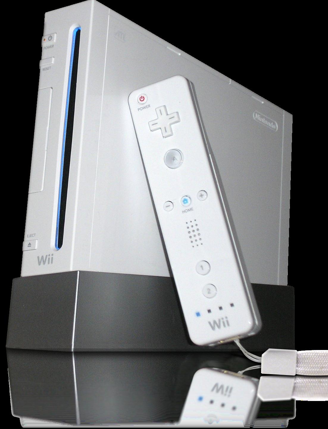 Imagen de la consola de Nintendo: Wii (2006)