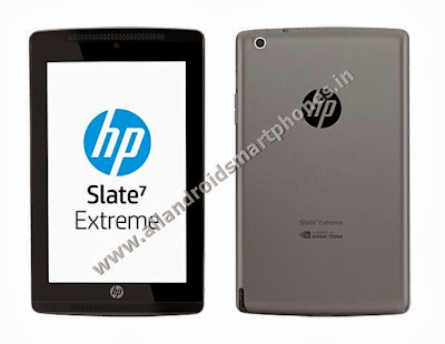 HP Slate7 Extreme Android WiFi 7.0 Inch Non Calling Tablet Front Back Images Photos Review