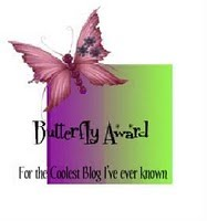 Blog Award From Sue in CT