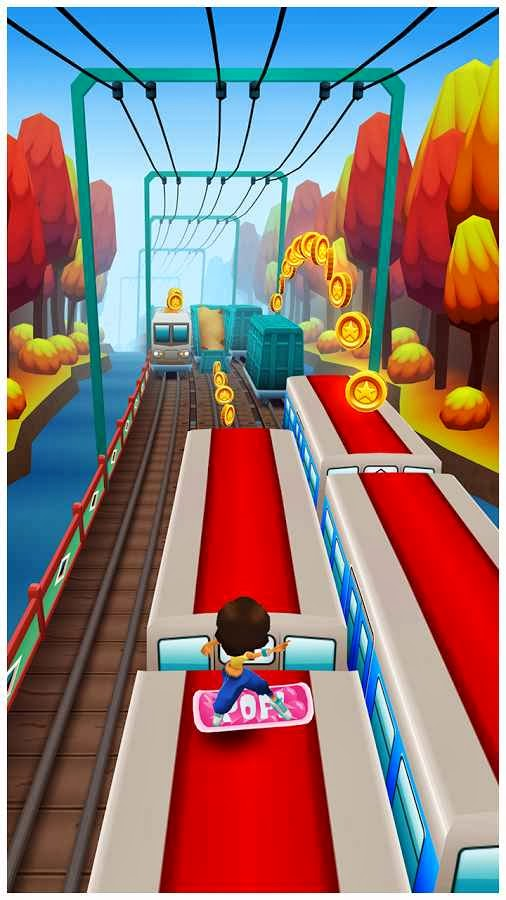 how to play subway surfers in jio phone