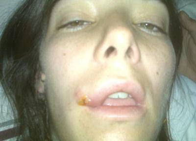 Juanita Viale agredió a una fotógrafa