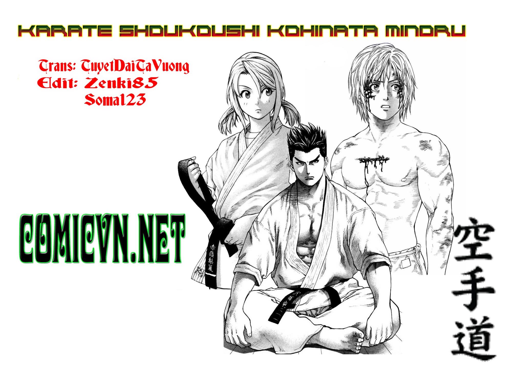 Karate Shoukoushi Kohinata Minoru chap 71 Trang 1