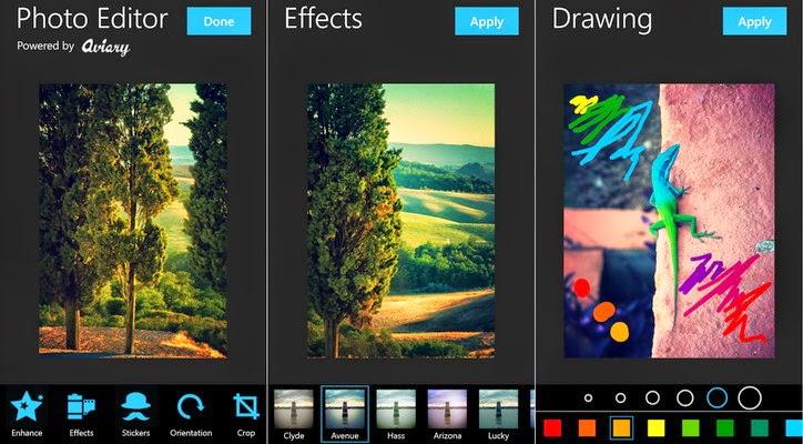 تحميل تطبيق محرير الصور Aviary Photo Editor أيباد.