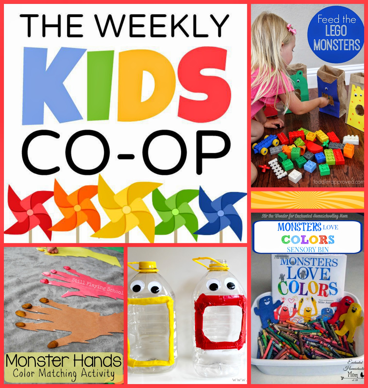 Printable color matching games for preschoolers - Co Color Matching Activities For Toddlers Toddler Approved Uses Legos And Paper Bag Monsters For
