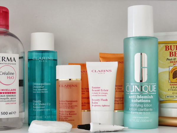My Current Skincare Routine | Clarins, Chanel & Bioderma ♡