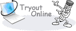 TRYOUT ONLINE
