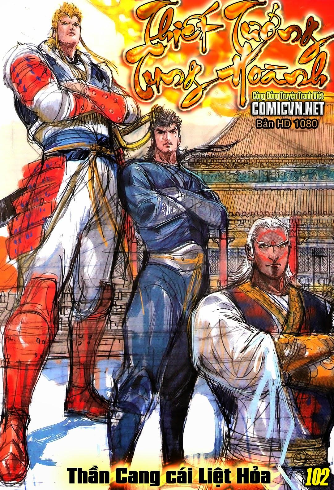 truyện tranh thiết tướng tung hoành Chapter 102/