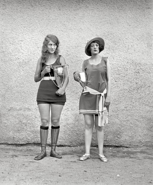 beauty contest 1922 vintage everyday
