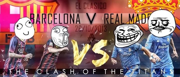 Foto Wallpaper El Clasico - Barcelona vs Real Madrid Terbaru 2013/2014