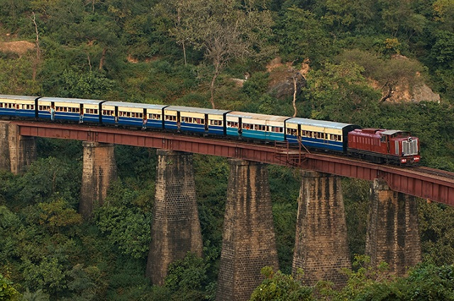 The Kangra Valley Railway is one of the most mesmerizing train journeys in India.