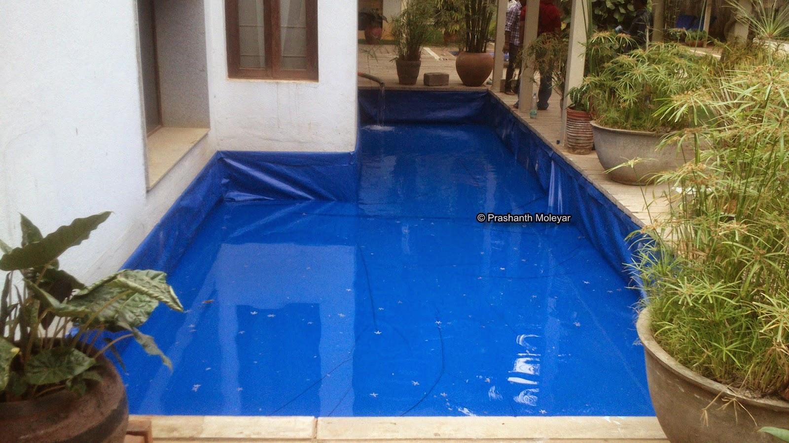 Pond lining flexi tank in karnataka for Above water fish tank