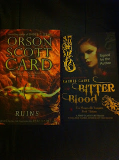 Ruins Orson Scott Card Bitter Blood Rachel Caine