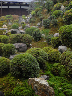 Moss and rock garden at Tofuku-ji