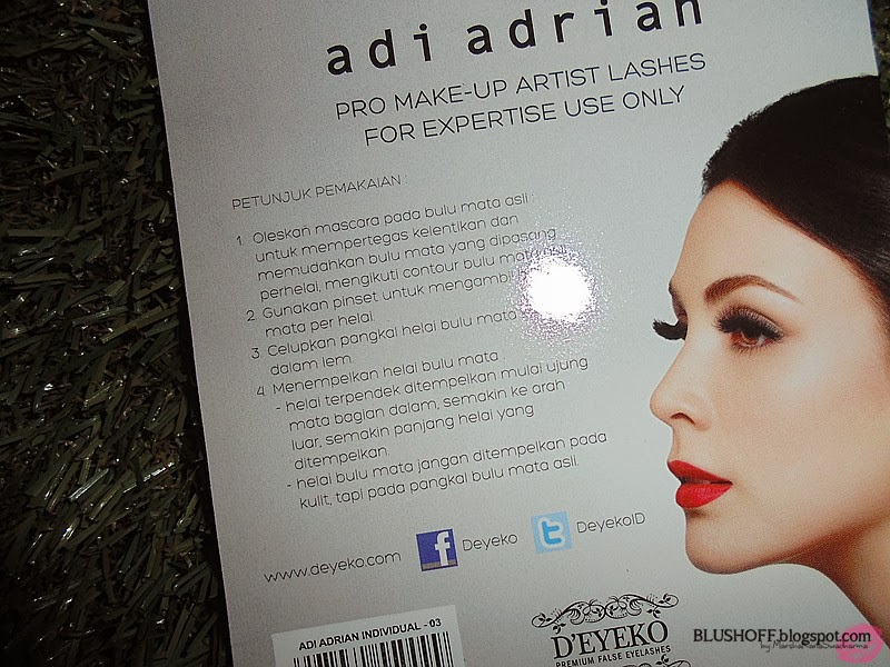 D 39 eyeko adi adrian lashes no 2 no 3 blushoff for Adi adrian salon
