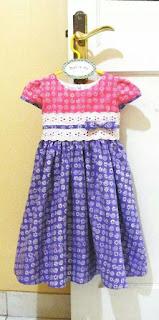 Model dan Gaya Baju Batik Untuk Anak