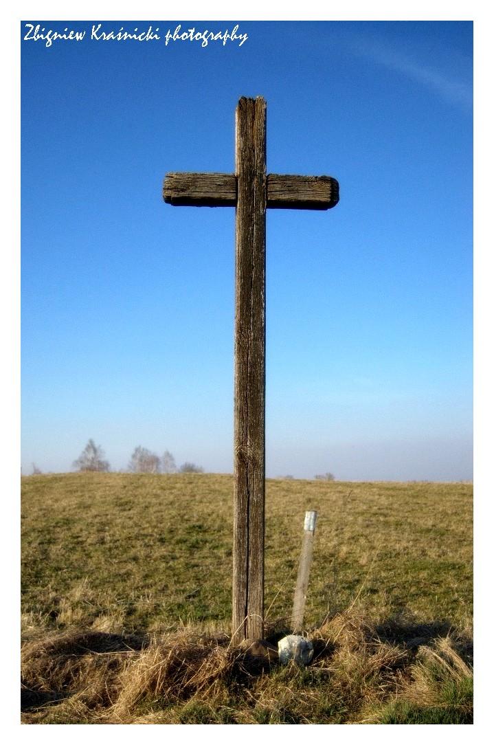 Krzyże przydrożne: okolice Stoczka Klasztornego