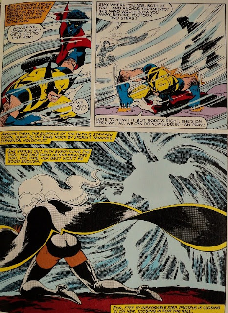 The X-Men vs. Proteus - Chris Claremont John Byrne