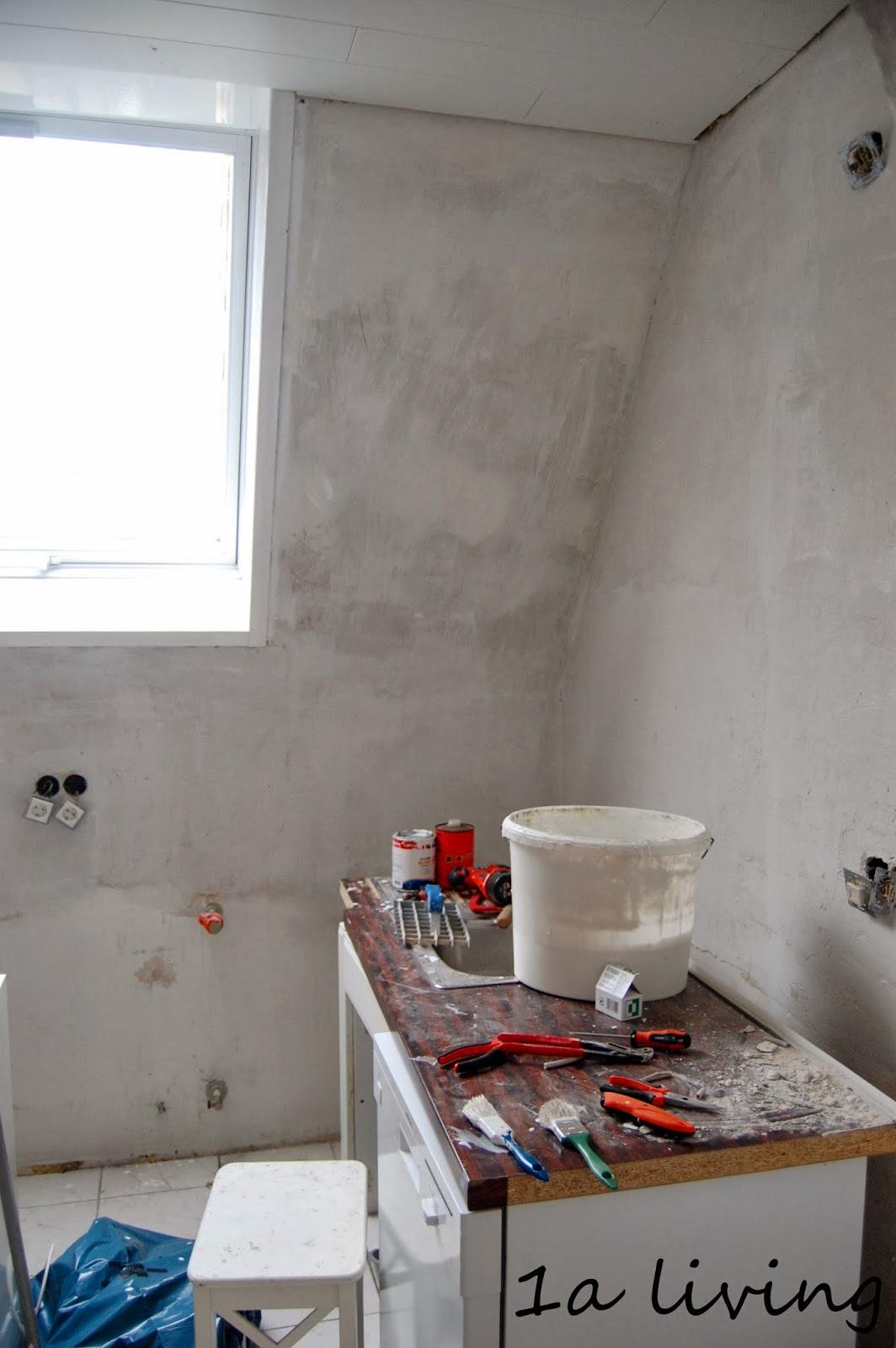 1a living: Grüße von der Küchenbaustelle
