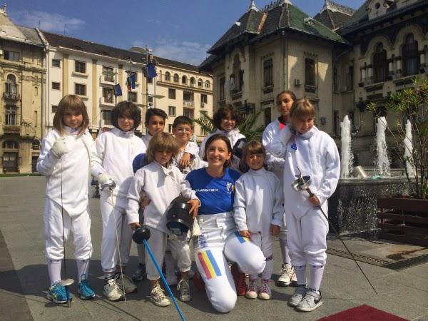 Ana Maria Branza intre viitorii campioni