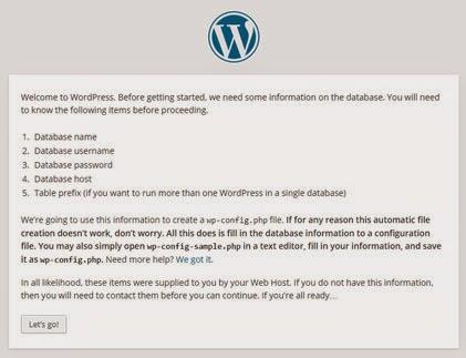 install wordpress dengan wamp