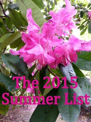 The 'a touch of domesticity' 2015 Summer List