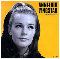 At first, Lyngstad was hesitant to perform with her boyfriend Benny ...