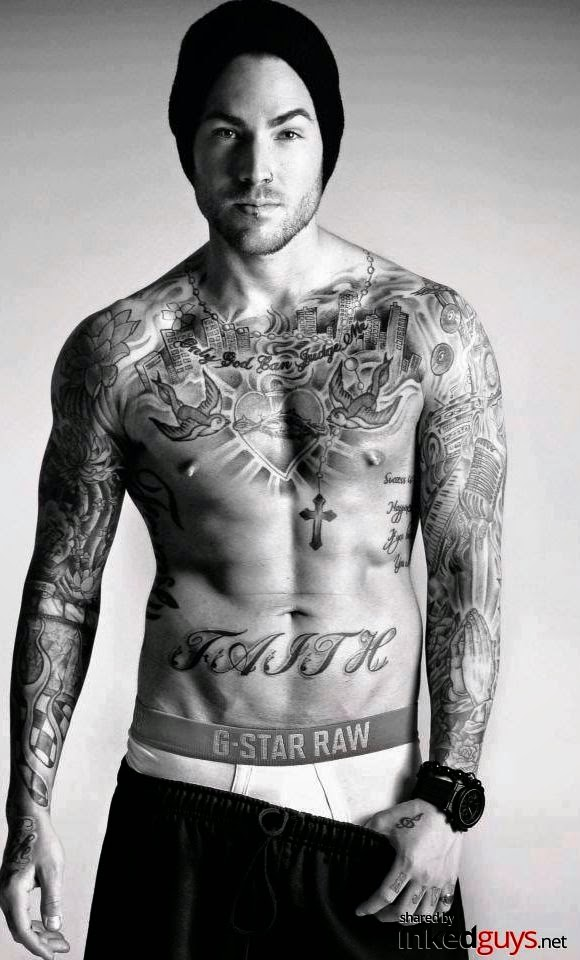 ♥ ♫ ♥ Sleeve Tattoo  - Ink - Portrait - Editorial - Pose Idea for Men  ♥ ♫ ♥