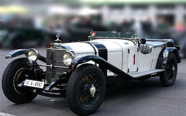 Old Timer Mercedes Benz