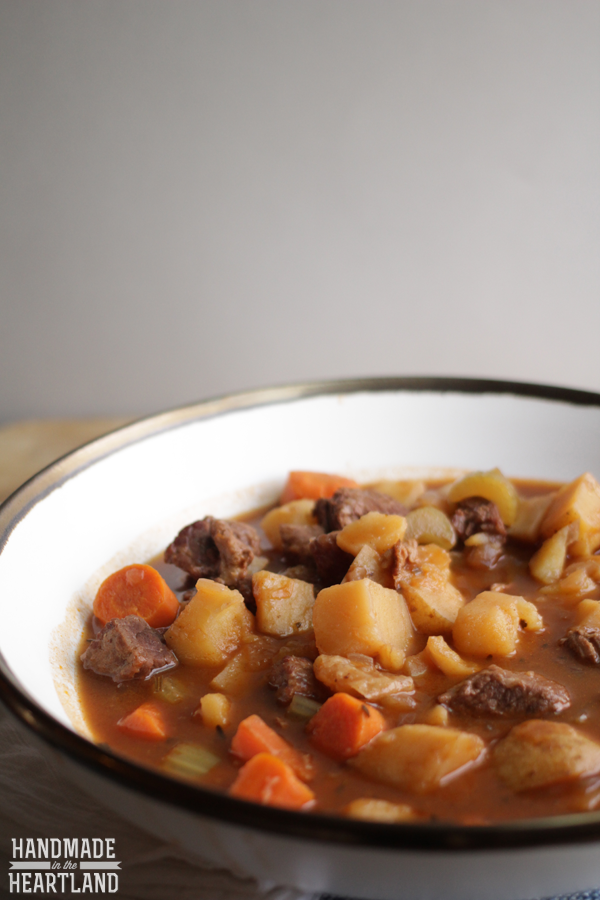 Crock-Pot Beef Stew Recipe