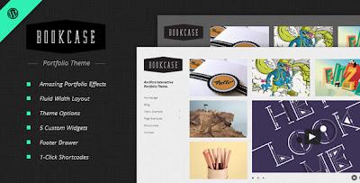 Themeforest Bookcase - Wordpress Portfolio Theme