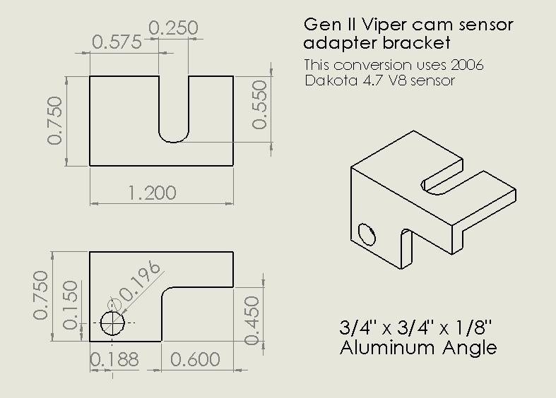 Jeff's Toy Box: Gen II and Gen III Viper cam sensor replacement on