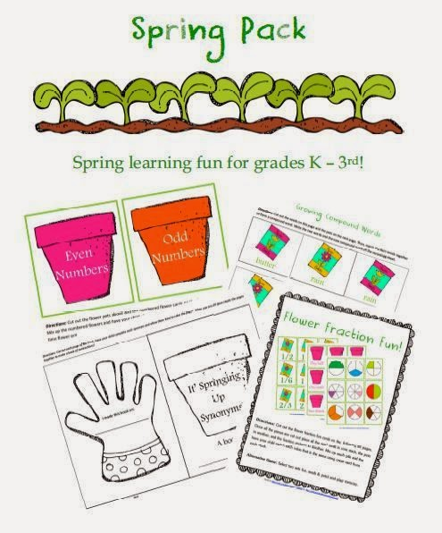 http://www.freehomeschooldeals.com/free-spring-printable-pack-for-grades-k-3rd/
