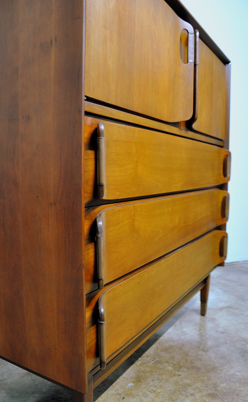 select modern mid century highboy chest of drawers or gentleman 39 s chest. Black Bedroom Furniture Sets. Home Design Ideas